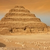 Djoserova pyramida - Gíza, Egypt
