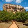 Sigiriya rock, Srí Lanka