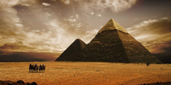 Pyramidy - Gíza, Egypt
